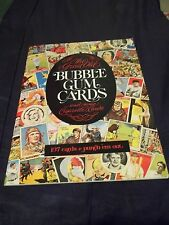 1977 Prime Press The Great Old Bubble Gum Cards and some Cigarette Cards book