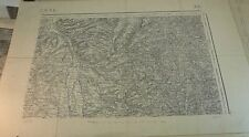Plan, Carte ROANNE type 1889, 158, World FREE Shipping*