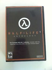 Half-life 1 Anthology Microsoft PC Game Free Shipping!