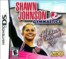 Shawn Johnson Gymnastics NEW factory sealed for Nintendo DS system
