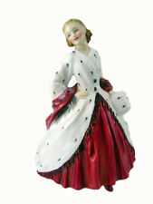 "ROYAL DOULTON HN 1981 ERMINE COAT  7"" FIGURINE"