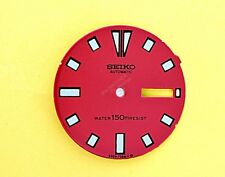NEW SEIKO DIAL FOR SEIKO 6309 7290 RED MENS SERIES DIVERS WATCH NR-049