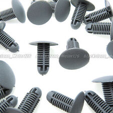 20 Fit 8mm Hole Bumper Fender Fastener X-Mas Tree Type Clip For Toyota For Lexus