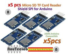 5pcs Micro SD Storage Board TF Card Reader Memory Shield Module SPI for Arduino