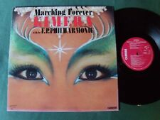 KIMERA & the F.P. PHILHARMONIC : Marching forever LP 1986 French CARRERE 66.350