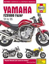 Haynes Manual 4287-Yamaha Fzs1000 Fazer (01 - 05) Taller, Servicio, Reparación