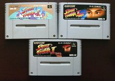 Super Famicom SFC Super Street Fighter Turbo II 2 Japan SNES games US Seller