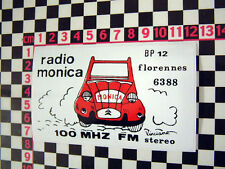 Vintage French Radio Sticker - Great for your Citroen 2CV Dyane