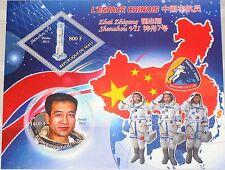MALI 2011 Chinese Space Program Zhai Zhigang Shenzhou VII Mission Weltraum MNH