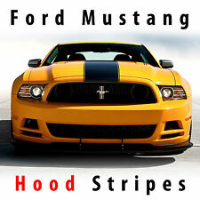 Ford Mustang BOSS Hood Center Racing Stripes 2013 Rally stripe Decal Kit Pre cut
