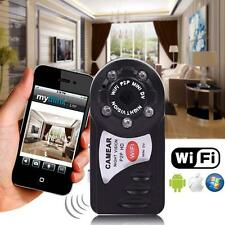 WIFI Mini DV IP Wireless Spy Cam Night Vision Camera Security For phones IOS CB