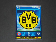 ECUSSON WAPPEN BVB DORTMUND UEFA PANINI FOOTBALL CHAMPIONS LEAGUE 2014 2015