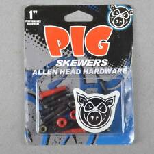 Pig Wheels Pig Skewers Allen Key Skateboard Truck Bolts 1""