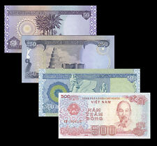 Vietnamese 500 Dong Free With 800 Iraqi Dinar Purchase 1 Of Ea 500 + 250 + 50