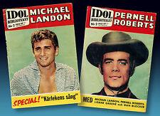 BONANZA ZEITSCHRIFT 1960   LITTLE JOE   MICHAEL LANDON   ADAM HOSS BEN 68 SEITEN