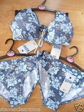 STUNNING LADIES  SWIMWEAR BIKINI SET  SIZE 10/12   TAKE A LOOK 3PCS SET