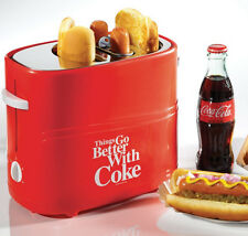 Nostalgia Electrics Coca-Cola Series Pop-Up Hot Dog Toaster, HDT600COKE New