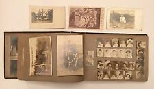 Vintage 1905 Family Photo Album Monticello NY Boston San Francisco RPPC Pictures