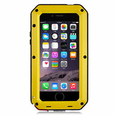 Shockproof Waterproof Aluminum Glass Metal Case Cover for iPhone 5c 5s 6 6s Plus