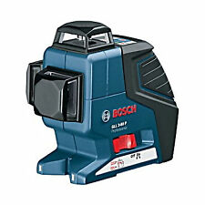 Bosch Power Measuring GLL3-80P Triple Plane 360-degree Self Leveling Line Laser