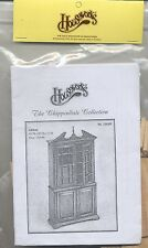 Kit - Cabinet Chippendale Collection wood furniture Houseworks 13018 1/12 scale