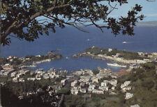 Alte Postkarte - Blick auf den Hafen von Ischia