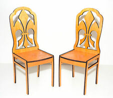 chair for Dolls 1/6 1:6 furniture Barbie FR wooden furniture lacquer 2 PCS!!!