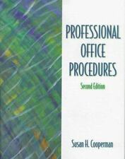 Professional Office Procedures by Cooperman (1998, CD-ROM / Paperback)