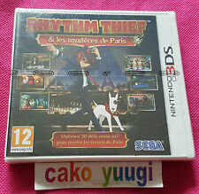 RHYTHM THIEF & LES MYSTERES DE PARIS NINTENDO 3DS NEUF VERSION FRANCAISE