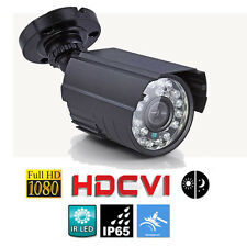 HD-CVI 2.0MP HD 1080P Night Vision Waterproof Security CVI CCTV Camera System