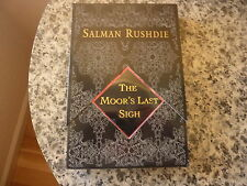 Moor's Last Sigh by Salman Rushdie / Signed & numbered Advance Copy in wrappers