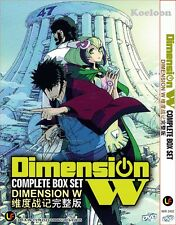 DVD Japan Anime DIMENSION W Complete Series (1-12 End) Eng Sub Free SHIPPING