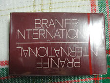 Braniff International Airways Issued Deck of Playing Cards in Unopened Brown Box