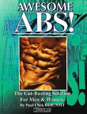 Acc, Awesome Abs: The Gut Busting Selection for Men & Women, Chek, Paul, 1552100