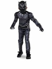 Disney Store Black Panther Captain America Civil War Costume Size 13 Halloween
