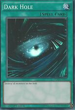 YU-GI-OH CARD SUPER RARE: DARK HOLE - DESO-EN042 1ST EDITION