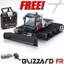 Kyosho Blizzard FR 1/12 EP Belt Snow Vehicle RTR w/ Radio + Free Metal Blade Arm