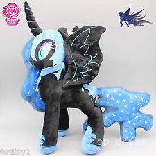 "Nightmare Moon plush doll 12""/30 cm Luna My Little Pony plush 12"" High Quality"
