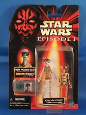 Star Wars Episode 1 Action Figure Ody Mandrell w/ Pit Droid & Commtech Chip MOC