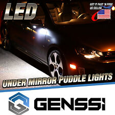 Ford Lincoln Side Rear View Mirror Bottom Puddle Light Bulb Lamp (Pack of 2)