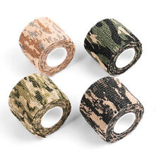 10PCS NEW Outdoor Camouflage WRAP RIFLE GUN Hunting Waterproof Camo Stealth Tape
