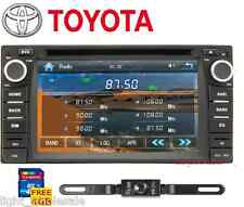 "6.2"" 2Din Stereo Car DVD Radio GPS Navi BT WIFI For Toyota Corolla Camry +CAMERA"