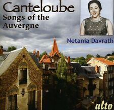 Songs Of The Auvergne - Canteloube,J. (2012, CD NEUF)