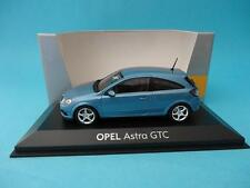 OPEL ASTRA GTC - 2005 - III GENERATION - BLUE METALLIC - 1/43 NEW MINICHAMPS