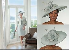 ISPIRATO CONDICI SEAFOAM hatinator hat wedding ascot FORMAL mother of the bride
