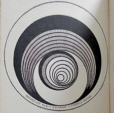 Early Histoire du Surrealisme Book w/ BLOCK-PRINTED MARCEL DUCHAMP ROTORELIEF
