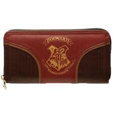 LICENZA UFFICIALE Harry Potter oro Hogwarts STEMMA CON CERNIERA BORSETTA