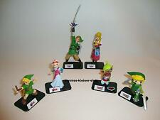Legend of Zelda 6 Figuren Nintendo Wii Link Phantom Hourglass OoT Skyward Sword