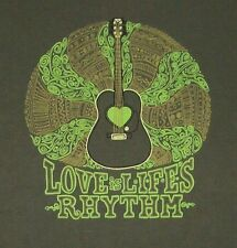 LIFE LOVE IS FOR EVERYONE / SAN DIEGO / GUITAR / 100% ORGANIC COTTON / T-SHIRT L