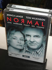 Normal (DVD) Tom Wilkinson, Jessica Lange, Jane Anderson, HBO VIDEO! BRAND NEW!